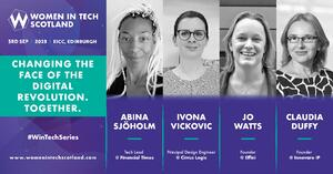 Women in Tech Scotland 2019: 4 sessions and what you'll learn from them