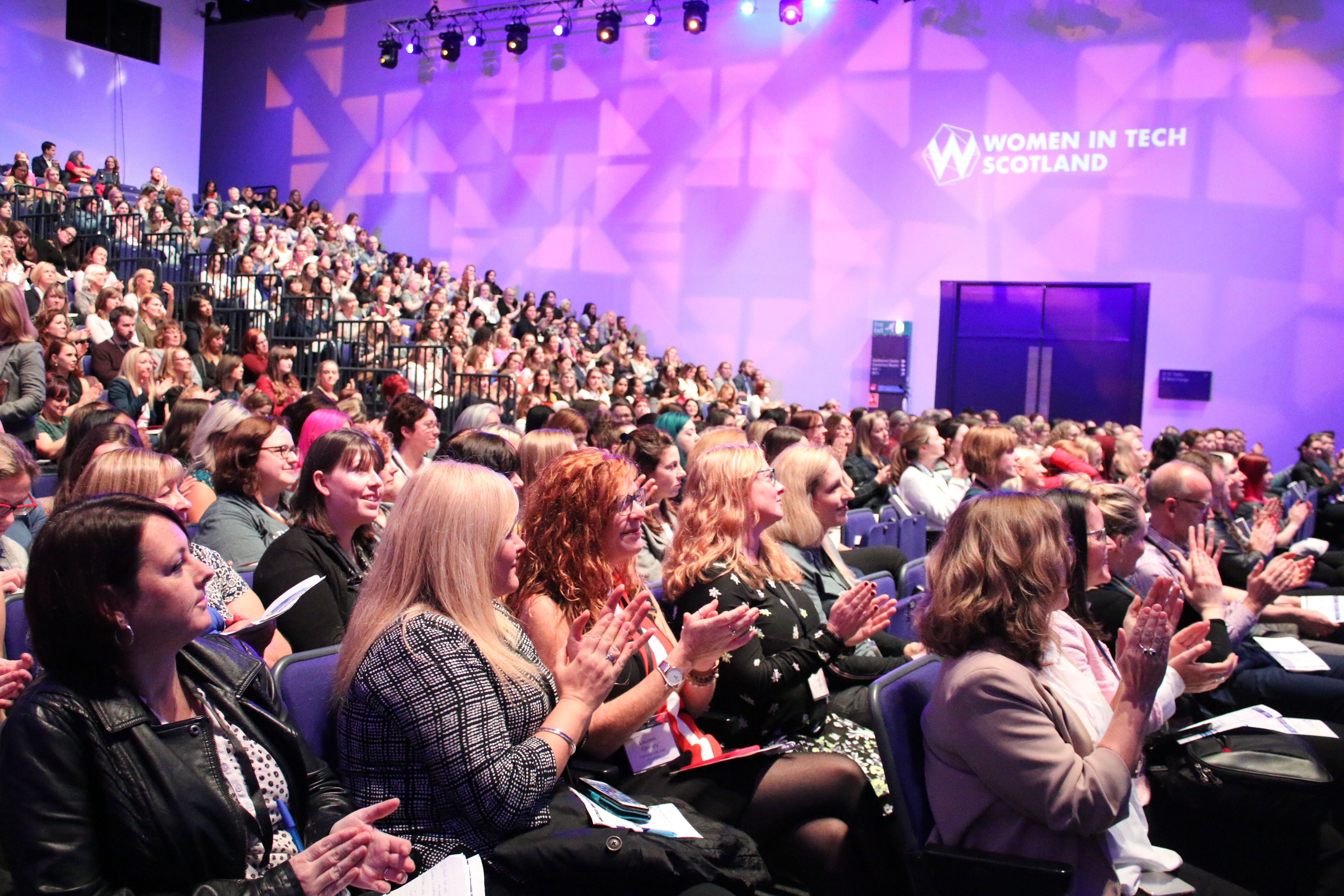 Women in Tech Scotland Audience